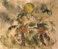 Pohon Kelapa dan Matahari - Coconut trees and sun