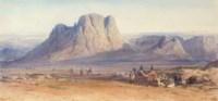 Arabs approaching Mount Sinai