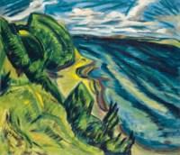Küstenlandschaft (Förde gegen Westen)