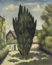 The Yew at Garsington