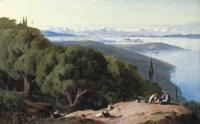 Corfu from the Hill of Gastouri