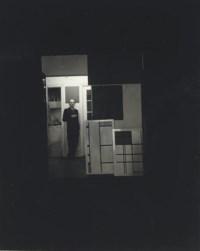 Mondrian in his studio, 1942