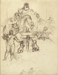 Study for The Judgement of Solomon