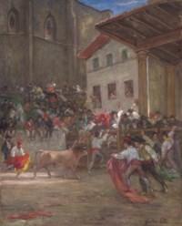 El picador con el toro