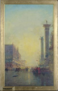 View of the Doge's Palace, Venice