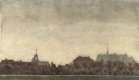 A view of Brouwershaven, Zeeland