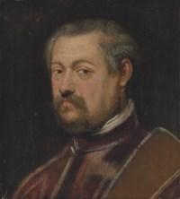 Portrait of a Venetian senator, bust-length