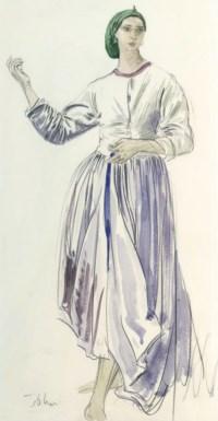 Study of Dorelia standing