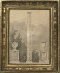 Design for a monument, possibly for the Villa Albani, Rome