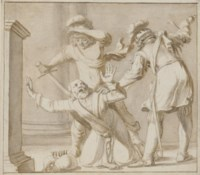 The death of Belshazzar