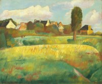 Landscape in Brittany