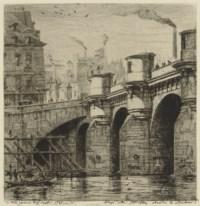 Le Pont Neuf, Paris (Delteil-Wright 33)
