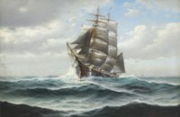 Fishing Schooner out of Gloucester