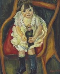 La petite fille à la poupée