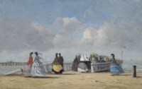 L'embarcadère à Trouville