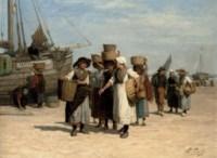 Terugkeer van de Vischafslag: after the day's catch