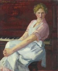 Celia, Pink Waist and Apron