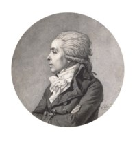 Portrait d'homme de profil