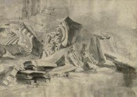 Studies of classical columns, capitals and architraves