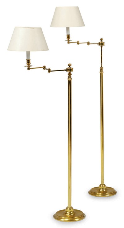 A PAIR OF FRENCH BRASS ARTICUL