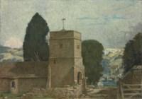 The Church behind