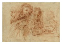 The Three Ages of Man (recto); Study of a foot (verso)