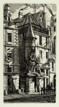 Tourelle de la Rue de la Tixéranderie (Delteil & Wright 29)
