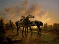 Biche et Mouche, 1846