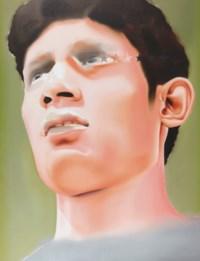 Mark Him (Second Half Foot Ball Painting - II)