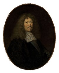 Portrait of a gentleman, half-length, with a sash and badge