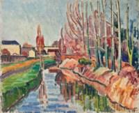 L'Yvette à Orsay (et deux autres oeuvres)