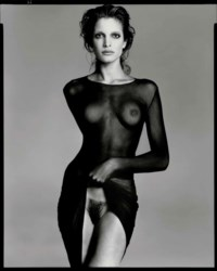 Stephanie Seymour, model, New York City, May 9, 1992
