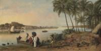 River at Bombay