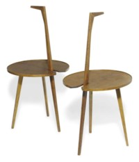 A PAIR OF FRANCO ALBINI 'CICOGNINO/TN6' OCCASIONAL TABLES
