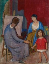 Familienbild, 1910