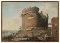 The tomb of Celia Metella