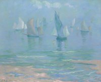 Sailboats at Dieppe