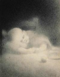 Etude d'enfant dormant