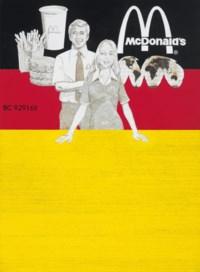 Untitled (McDonald's Stock Certificate, German Version)