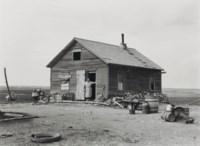 Company Housing in Coal Camp, Appalachia, 1946; and Farm House, North Dakota, 1939