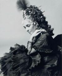Elizabeth Taylor, Rothschild Proust Ball, 1971