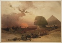 ROBERTS, David (1796-1864). Egypt & Nubia, From Drawings Made on the Spot by David Roberts. With Historical Descriptions by William Brockedon. Londres: F.G. Moon, 20 Threadneedle Street, 1846-1849.