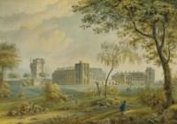 Vue du château de Vincennes