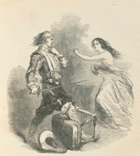 DUMAS, Alexandre, père (1802-1870).  The Three Musketeers. London: G. Vickers, 1846.