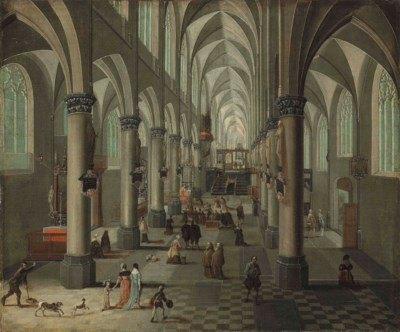 Pieter Neeffs II (Antwerp 1620