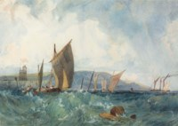 Shipping off the coast of Dieppe