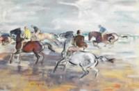 A race across the sands, Jersey