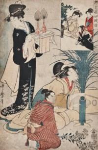 KITAGAWA UTAMARO (1750-1806)