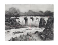 Drawing from the Colonial Landscapes series