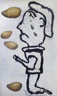 Prayer Painting (Potato Painting)